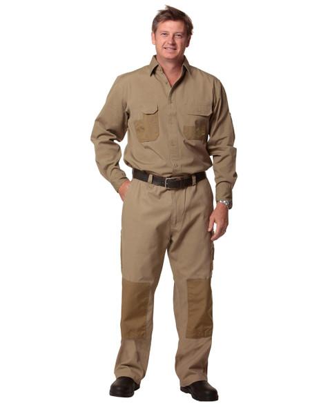 WP09 - Mens Cordura Durable Work Pants - Regular Size