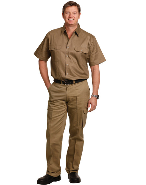 WP13 - Mens Heavy Cotton Pre-Shrunk Drill Pants - Long Leg