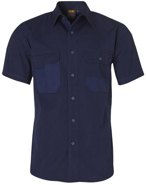 WT05 - Durable Short Sleeve Work Shirt