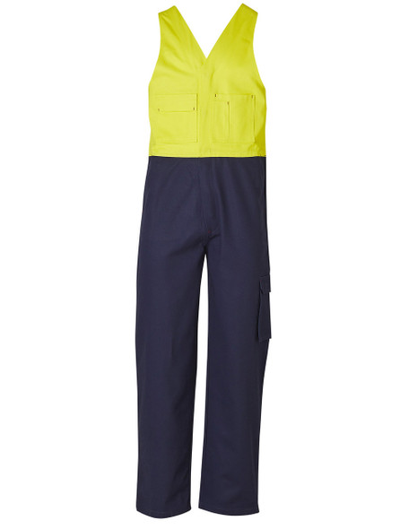 SW202 - High Visibility Action Back Overall - Stout