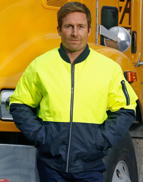 SW06A - High Visibility Tow Tone Flying Jacket