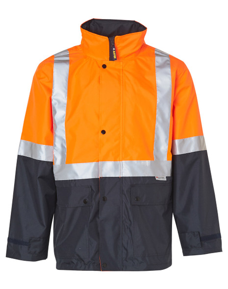 SW18A - Hi Vis Safety Jacket with Mesh Lining and 3M Tapes