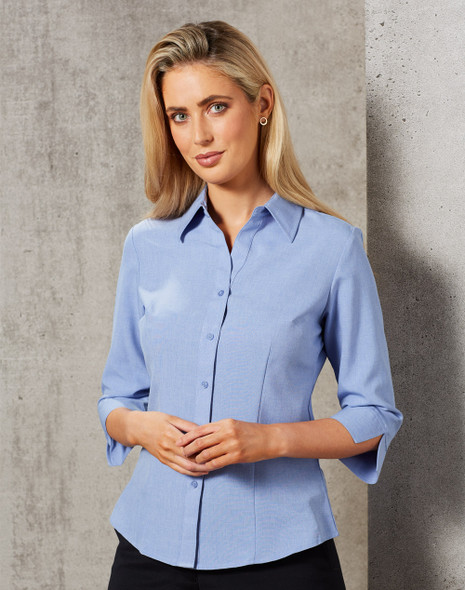 M8600Q - Womens CoolDry 3/4 Sleeve Shirt
