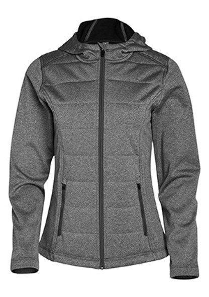 Charcoal - JK52 Jasper Cationic Quilted Jacket- Ladies