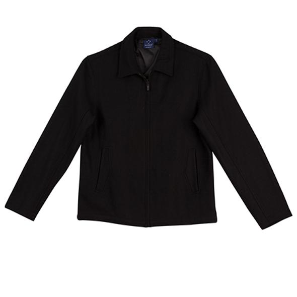 Black - JK14 FLINDERS Wool Blend Corporate Jacket Womens - Winning Spirit