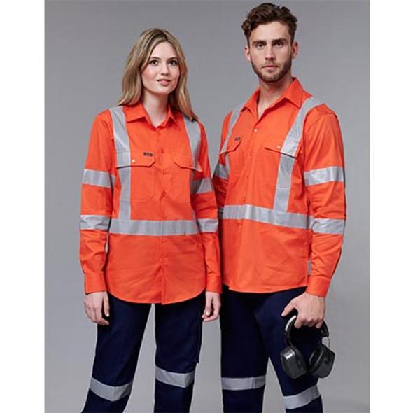 SW66 NSW Rail Lightweight Safety Shirt - Winning Spirit - Display