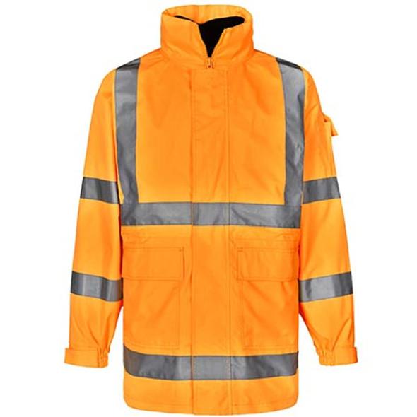 Orange - SW75 Vic Rail Hi Vis Safety Jacket - Unisex - Winning Spirit