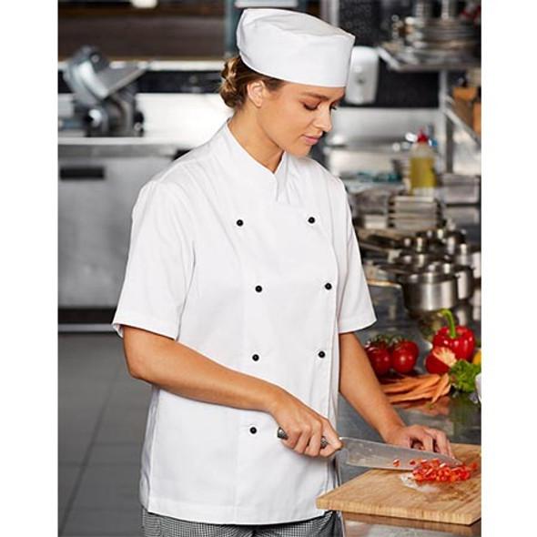 CJ02 Chefs Short Sleeve Jacket - Winning Spirit