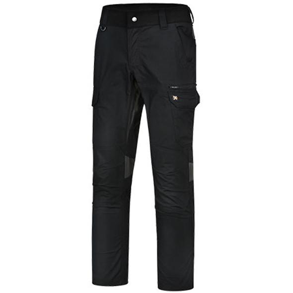Black - WP24 Unisex Ripstop Stretch Work Pants - Winning Spirit