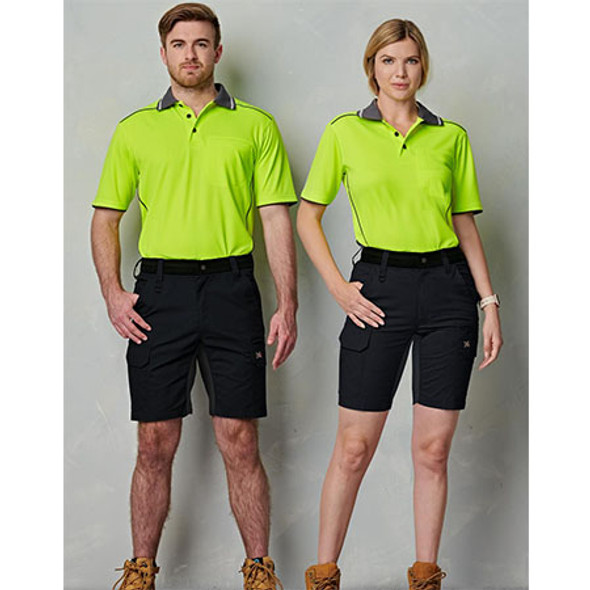 WP25 Unisex Ripstop Stretch Work Shorts - Winning Spirit