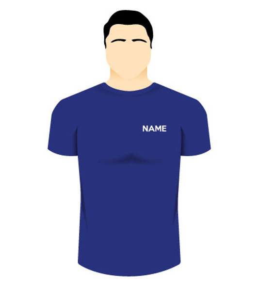 Left Chest Name or Plain Text - In-House Embroidery - Online Workwear