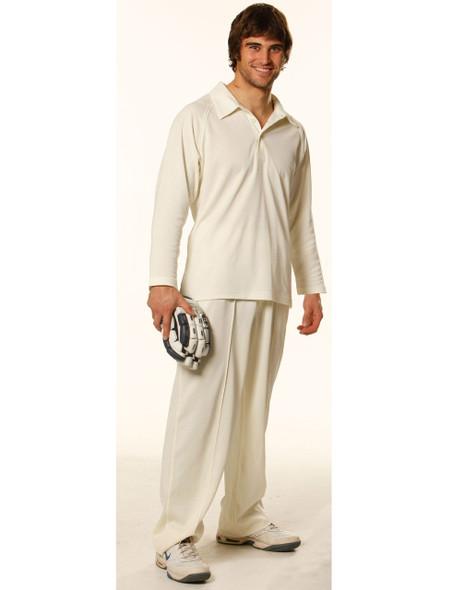PS29L - Men's Cricket Polo Long Sleeve