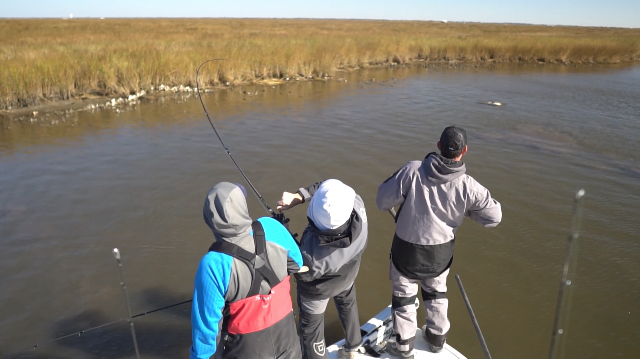 Slaying Redfish with Capt. Tyler Carriere