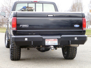 Rigid Industries Dually back up lights and clevis mounts.