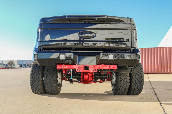 Corner Steps Back Up Sensors  Rigid Industries Dually XL Back Up Lights