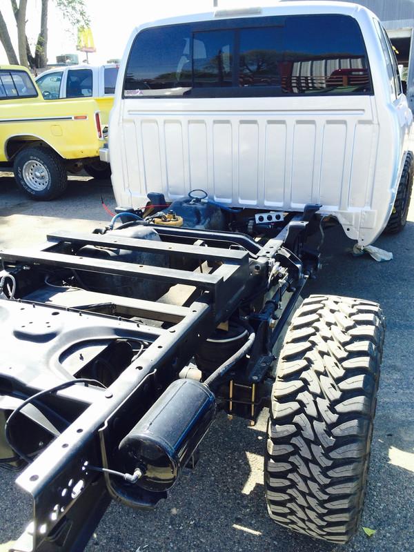Rear air ride kit