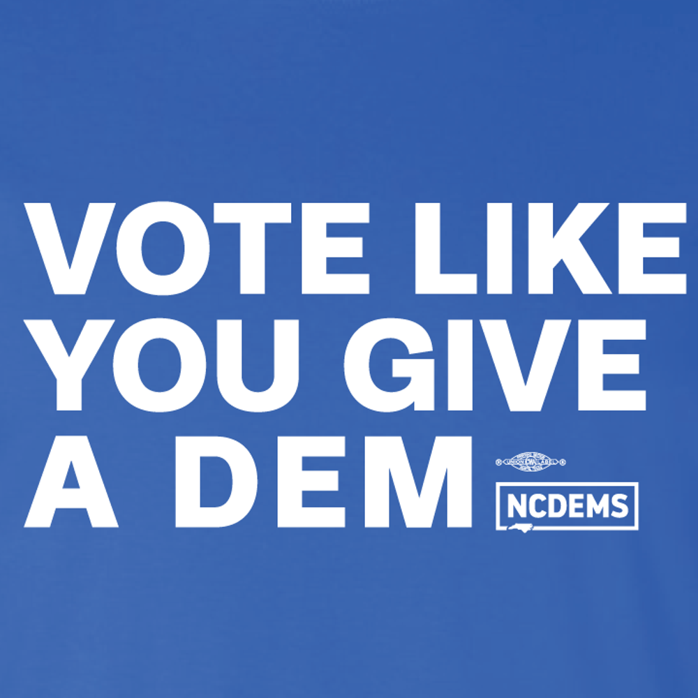Vote Like You Give A Dem (Royal Tee)
