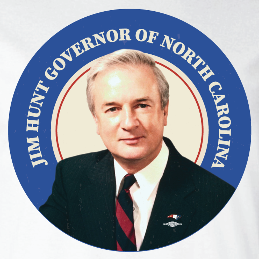 Jim Hunt Throwback (White Long-Sleeve Tee)