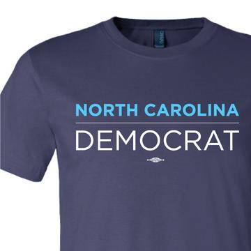 North Carolina Democrat (on Navy Tee)