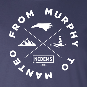 From Murphy to Manteo (Navy Long-Sleeve Tee)