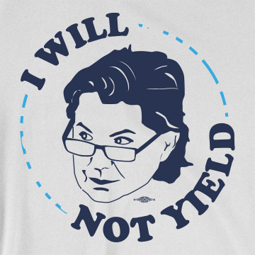 Rep. Deb Butler - I Will Not Yield (Unisex White Tee)