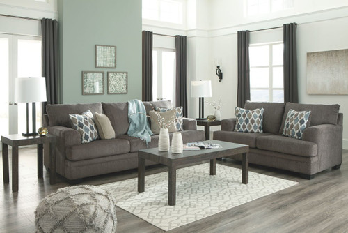 Enjoyable The Wixon Slate Sofa Loveseat Available At Select Machost Co Dining Chair Design Ideas Machostcouk