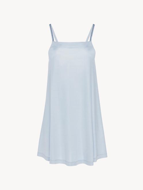 Dress in azure blue