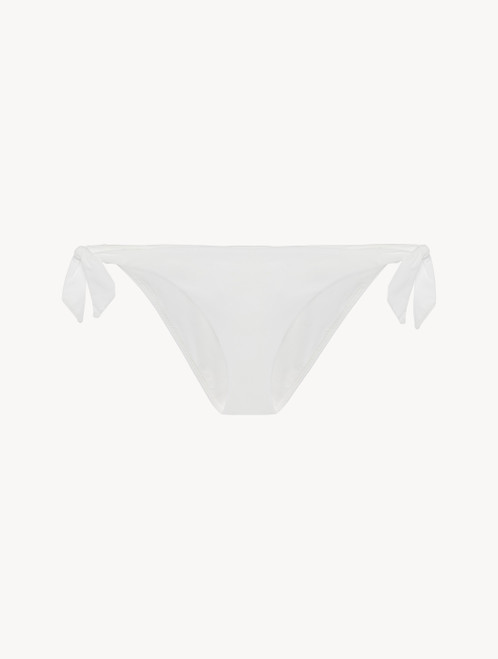 Ribbon Bikini Briefs in off-white