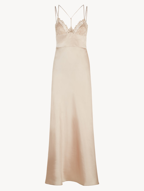 Pink long night dress