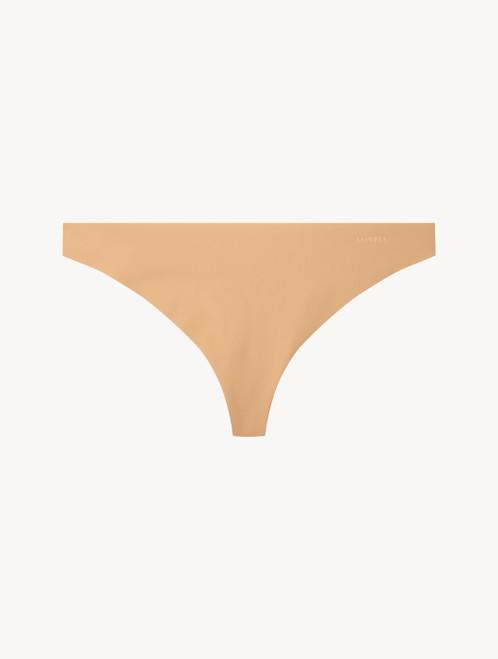 Amaretto-coloured thong