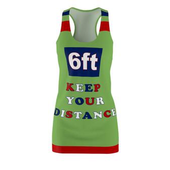 Keep Your Distance  Racerback Dress