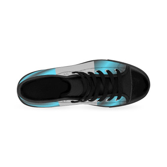 Men's High-Top Sneakers Turquoise Gary