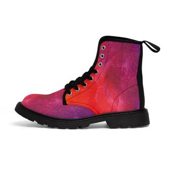 Women Canvas Boots  --