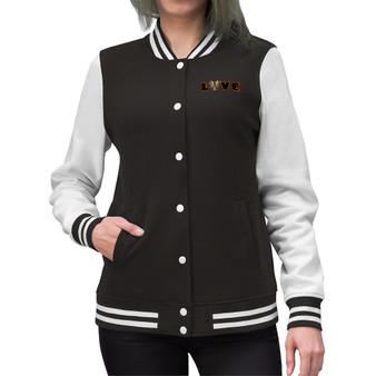 Women LOVE Varsity Jacket -- 15% Off  @ CHECKOUT