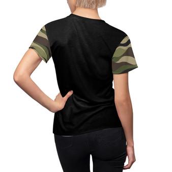 Camouflage Green Pattern  Shirt