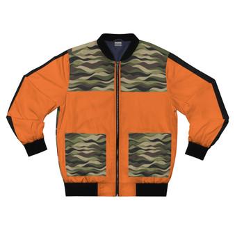 Orange Camouflage Jacket SPEND-- 15% Off  @ CHECKOUT