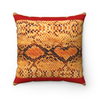 Animal Pattern Square Pillow Case