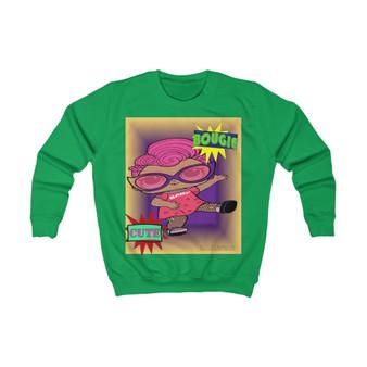 Girl Bougie Cute  Sweatshirt