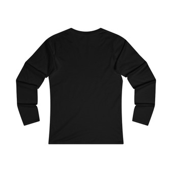 Women  Be Mine Fitted Long Sleeve Tee