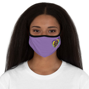 Sweet Love Fitted Face Mask