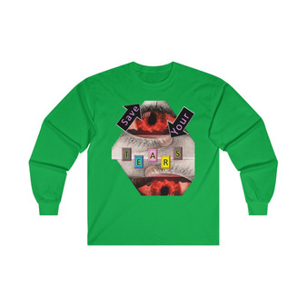 Save Your Tears Cotton T-Shirt