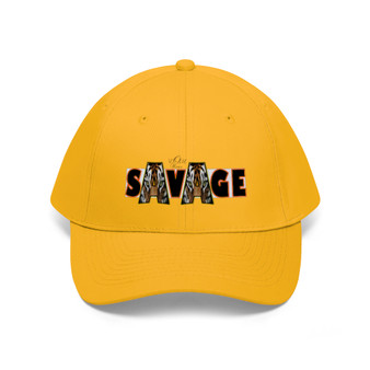 front of  unity yellow hat without person