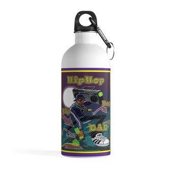 Hip Hop Dad Stainless Steel Water Bottle