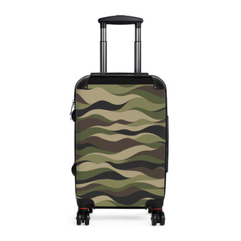 Camouflaged Adjustable Cabin Suitcase