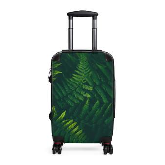 Jungle Leaves Adjustable Cabin Suitcase