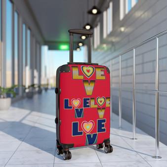 Love Adjustable Cabin Suitcase