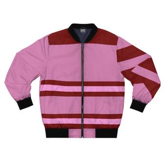 Mauve Pink and Maroon Unisex  Jacket