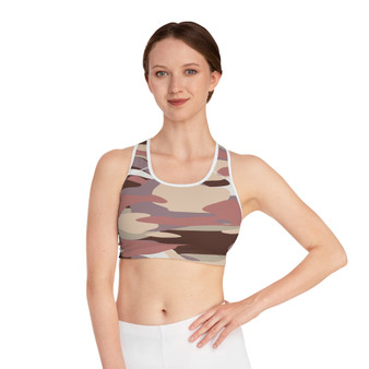 Camouflage Pastel Sport's Bra