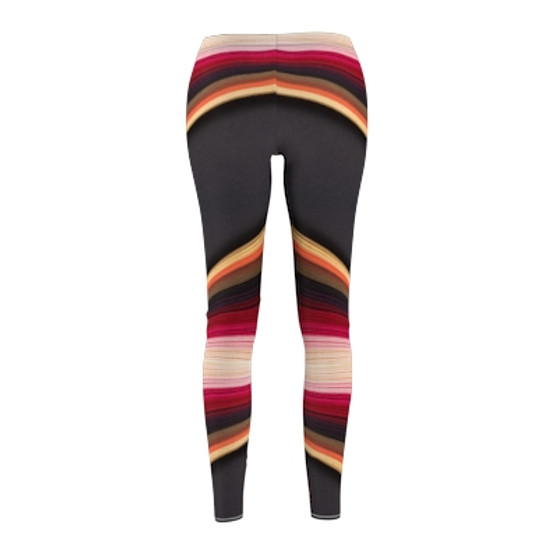 Brown Pattern Leggings