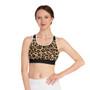 Leopard Pattern Sports Bra